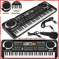 Keyboard Electronic 61 Key Electric Music Digital Piano Organ with Mic