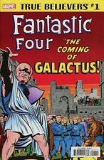 TRUE BELIEVERS Fantastic Four 48 COMING OF GALACTUS #1 NM MARVEL Comics STAN LEE