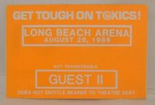 The Eagles / Neil Young / Stevie Nicks - Rare Original 8/28/1986 Cloth Show Pass