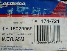 1994 GMC Truck C3500 Master Cylinder # 18029969 FREE SHIPPING