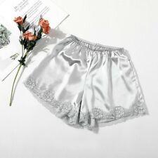 size 12-14 Aimerfeel fashionable great quality woman/'s satin sky blue briefs