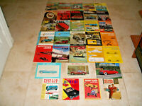 MIXED LOT OF 32 VINTAGE 1950's 1960's 1970's CAR AUTO MAGAZINES Collection