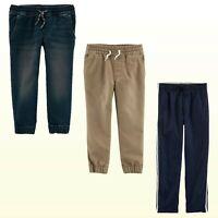 Boys Carter's Oshkosh B'gosh Woven Pull-On Tier Separates Joggers or Lined Pants