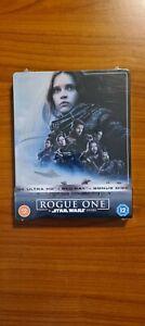 Rogue One - A Star Wars Story Steelbook - 4k+2K  ZAVVI SPEDIZIONE GRATUITA