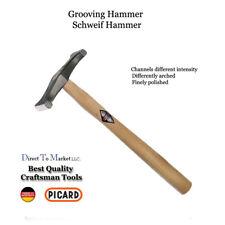 Picard Grooving  hammer 017501-0250 Goldsmith, Tinsmith, Jeweler, Armor Maker