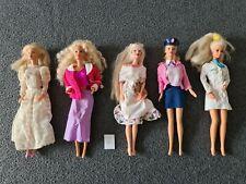 Barbie & Friends 5 originale Puppen von Mattel + Kleidung - Ältere Puppen Set 6