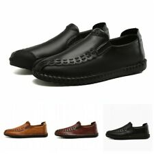 Big Size Mens Slip On Breathable Loafers Shoes Casual Driving Moccasin Flats L