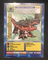 Carte Digimon Vermilimon MP-104 Française Rare Neuve !