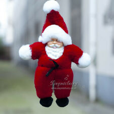 Rex Rabbit Fur Santa Claus,Real Fur Key Ring, Real Fur Key Chain