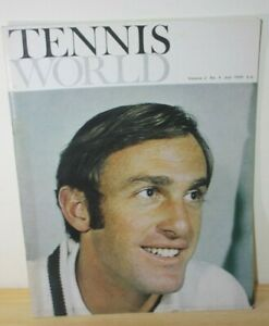 Tennis World Magazine 1970 Vol 2 No.4 with Wimbledon Pictorial Supplement used