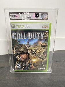 Call of Duty 3 (Xbox 360 2006) New Sealed - VGA graded 85
