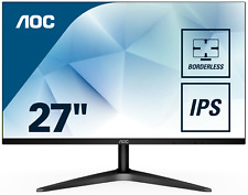 AOC 27B1H LED-Monitor 68,6 cm 27 Zoll schwarz Full-HD IPS 7ms HDMI VGA