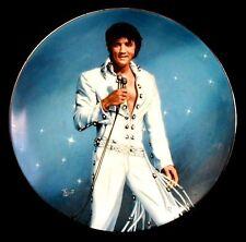ELVIS PRESLEY In Performance KING OF LAS VEGAS Bruce Emmett 1991 DELPHI Plate
