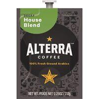 Alterra House Blend Decaf Coffee 100/CT Black A187