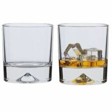 Dartington Crystal Dimple Double Old Fashioned Tumbler (pair)