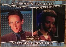 Complete Star Trek Deep Space Nine DS9 Alternate Realities Card - AR4 Bashir
