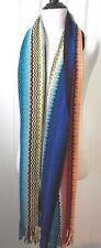 Missoni  Multi-Color ZigZag with  Fringe  Shawl  Scarf  Wrap