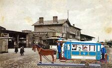 Babette Schweizer German Zinnfiguren Pewter - Muechner Pferdetrambahn
