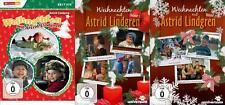 Weihnachten mit Astrid Lindgren Volume 1,2 und 3  -3  DVD´s - NEU & OVP