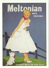 ROBERT  OPIE  ADVERTISING  POSTCARD  -  MELTONIAN  WHITE  DRESSINGS