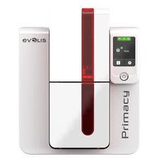 EVOLIS PRIMACY PVC CARDPRINTER Single USB ETHERNET Ribbon Cards Software NEW