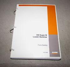 Case 590 Super M Loader Backhoe Parts Catalog Manual 7-6101 2000
