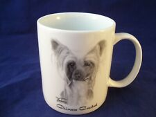 Rosalinde Porcelain Coffee Mug Vladimir Chinese Crested Dog Usa Hand Decorated