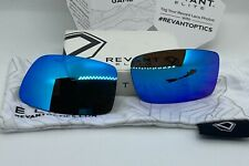 Revant POLARIZED Ice Blue Mirror Replacement Lenses for OAKLEY GASCAN Sunglasses