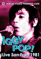 DVD Iggy Pop – Live San Fran 1981 Usa 2005 Sealed