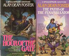 Complete Set Series - Lot of 8 Spellsinger books by Alan Dean Foster Spellsong