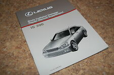 Lexus IS300 IS 300 Service Manual Supplement Body Collision Damage Repair New