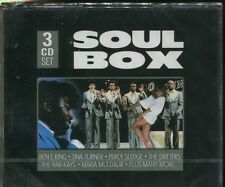 SOUL BOX - VARIOUS ARTISTS on 3 CD's -  NEW -