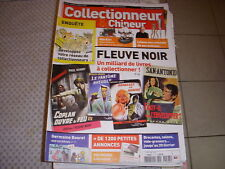 COLLECTIONNEUR CHINEUR 097 04.02.2011 LIVRE FLEUVE NOIR TRAINS MARKLIN GARFIELD