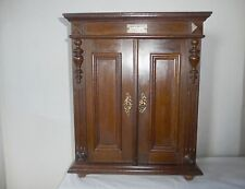ANTIQUE ELEGANT VICTORIAN WALL and FREE STANDING CABINET COMPARTMENTS & DRAWERS
