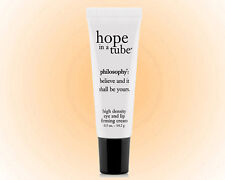 Philosophy Hope In A Tube Eye & Lip Contour Cream .5OZ. Fine Lines Eye & Lip NEW