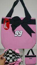 Race Ready Lady Nascar Canvas Purse Bag inside zipper compartment  #99