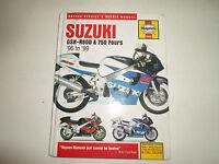 1996 1999 Haynes Suzuki GSX-R600 750 Fours Service Shop & Repair Manual x