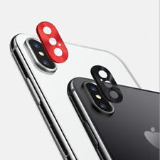 For iPhone X 10 Rear Back Camera Protector Lens Case Alloy Protective Ring Cover