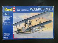 Supermarine WALRUS Mk.I, Wasserflugzeug, Revell, Scale:1/72, Kit:04391, Selten!