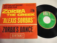 """SOUNDTRACK Zorba Le Grec  7"""""""
