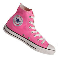 Converse Hi Top All Star Chuck Taylor Pink White Mens Womens Shoes Size 3.5-13