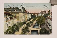 alte AK Ansichtskarte  Gruß aus Wörishofen Kurort  1920