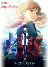 DVD Japan Anime Sword Art Online The Movie Ordinal Scale English Dubbed / Audio