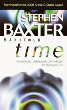 Manifold: Time by Stephen Baxter (2000, Paperback)