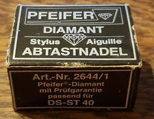 Pfeifer Neu 2644/1 Diamant Abtastnadel Ersatz Hitachi DS ST 40 Stylus