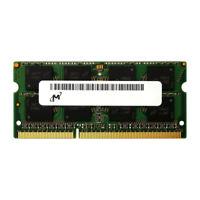 MICRON MT16JTF1G64JHZ-1G6 8GB 2Rx8 PC3-12800 1600MHz NONECC LAPTOP MEMORY RAM