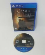 Game of Thrones Ps4 Game Great Condition Tested and Works!