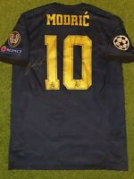 Luka MODRIC 19/20 SIGNED away Real Madrid shirt Croacia player issue match worn