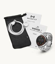 Fossil MISFIT VAPOR 2 SmartWatch STAINLESS STEEL Wear OS Heartrate GPS GooglePay