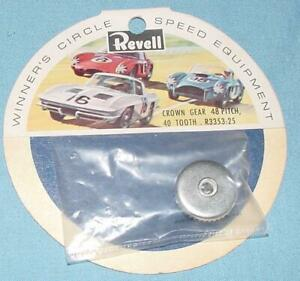 REVELL 1:24 WINNERS CIRCLE EQUIPMENT CHASSIS PARTS CROWN GEAR 40 TOOTH R-3353